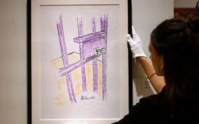 Une oeuvre de Nelson Mandela vendue à New-York