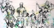[Snapshot] Avec Gastineau Massamba, le tissage est un sport de combat