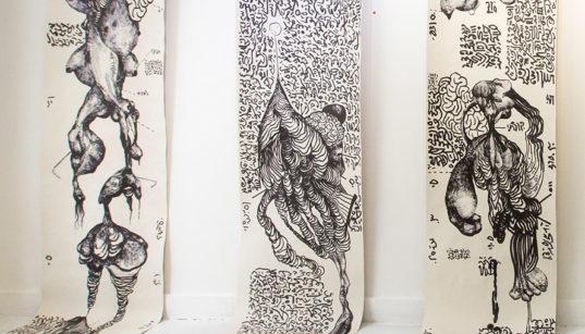 [Work in progress] Dans l'univers rétro-futuriste d'Aïcha Snoussi