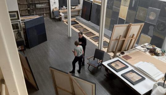[Story] Dans l'atelier de Saâd Hassani