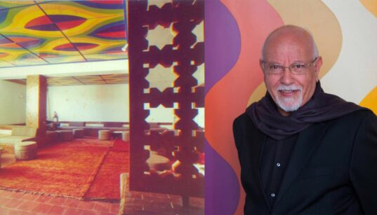 La société civile se mobilise pour les plafonds peints par Melehi à l'hôtel Les Roses du Dadès