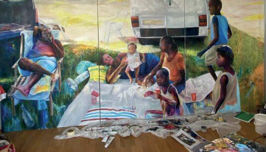 [Work In Progress] Elladj Lincy Deloumeaux créolise la peinture