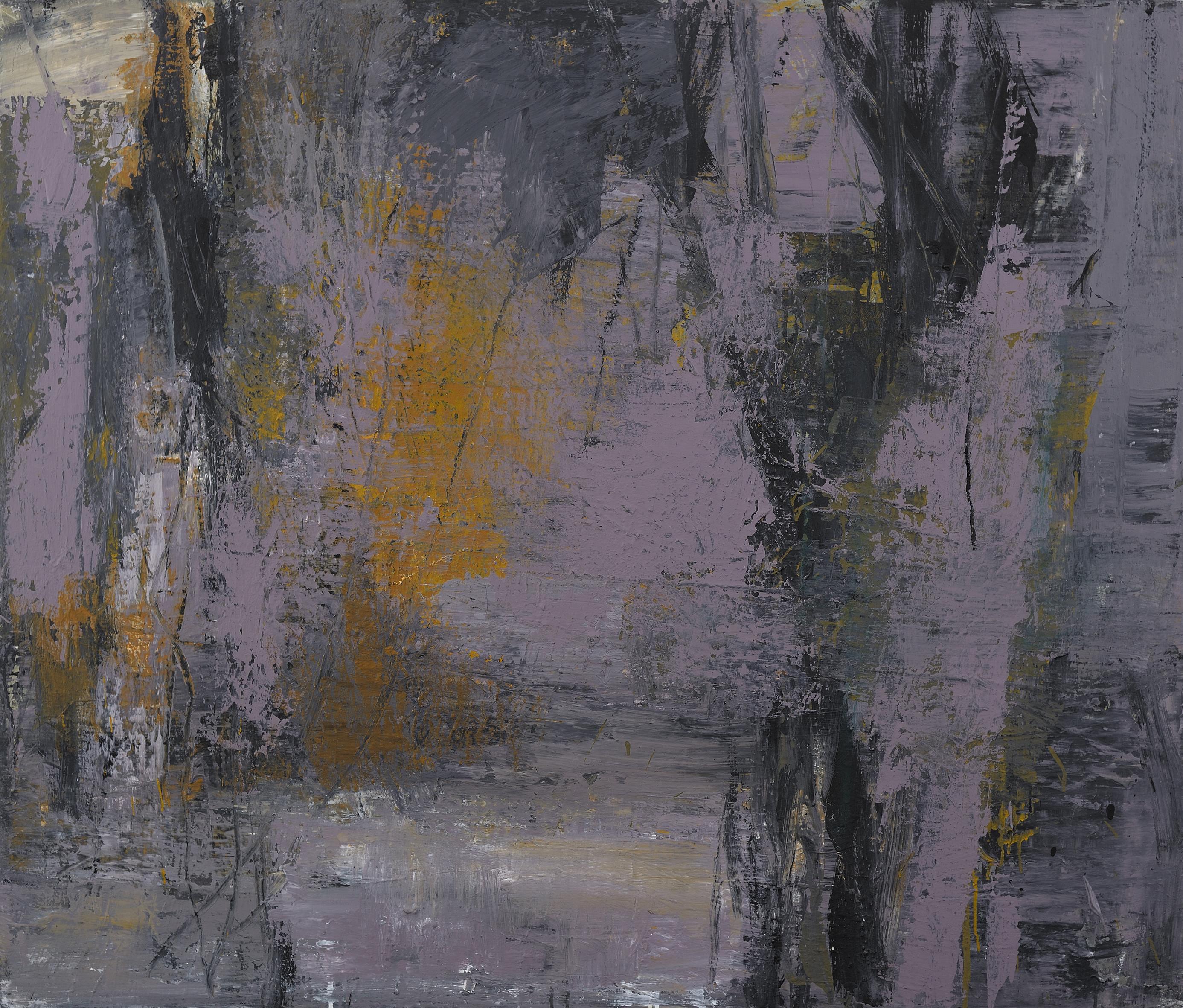 Youssef Titou, Sans titre, 2012. Technique mixte sur toile. Courtesy de la Galerie Shert